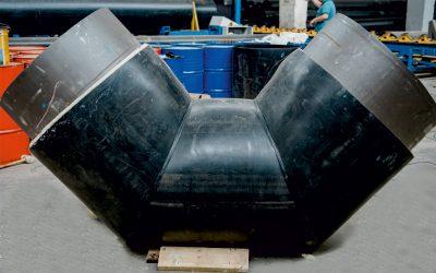 Запуск в производство нового вида отводов